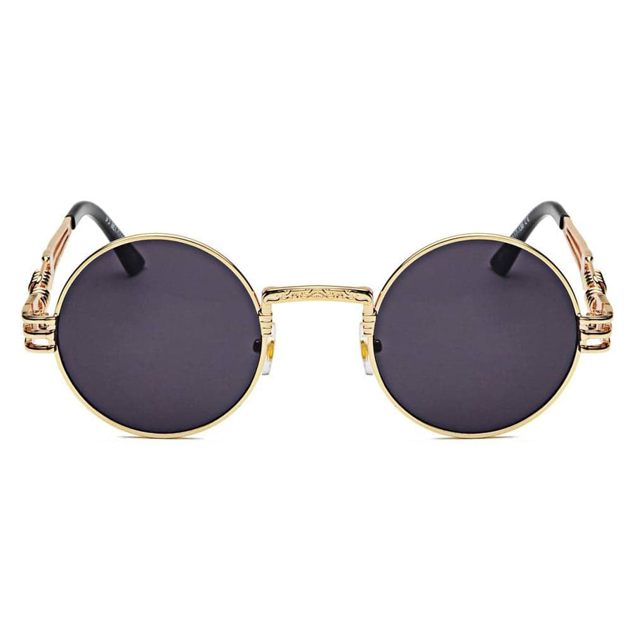 'ASAP' - Steampunk Round Sunglasses