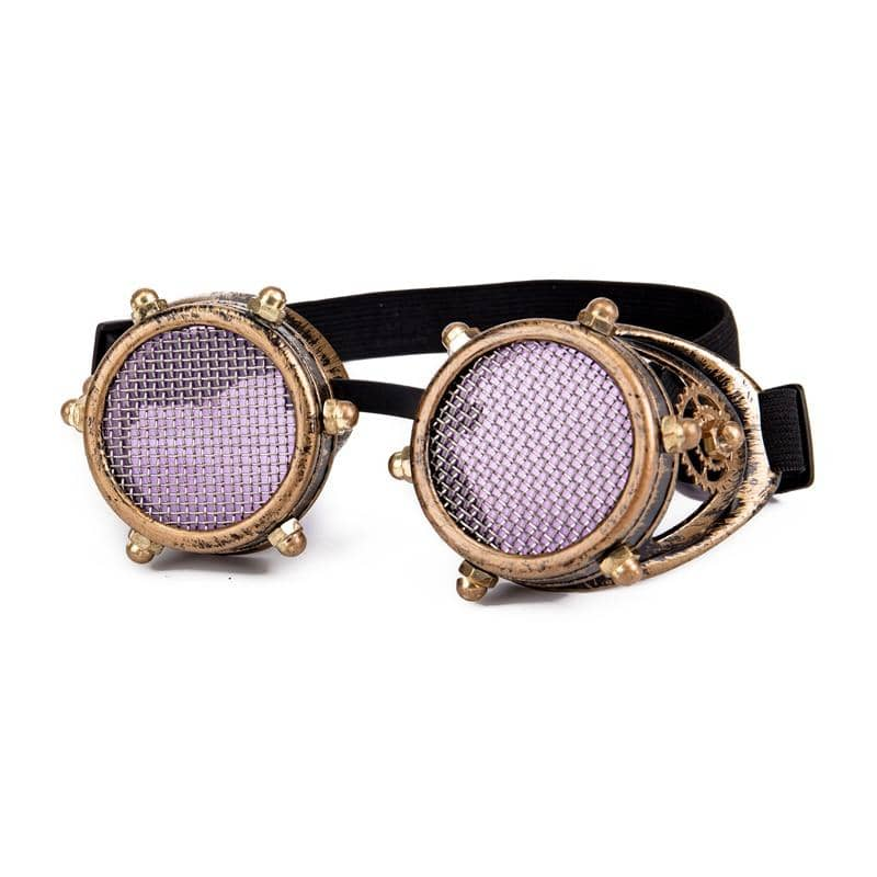 """Rave Festival"" Steampunk Goggles Kaleidoscope"