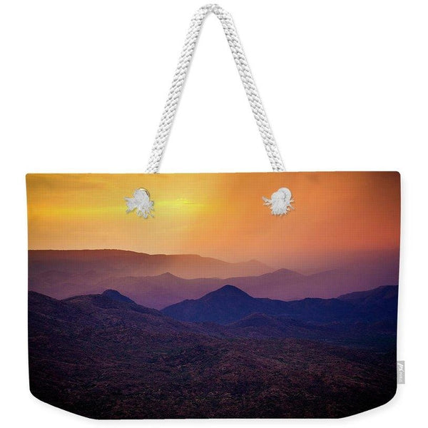 Rain Over Black Canyon | Weekender Tote Bag