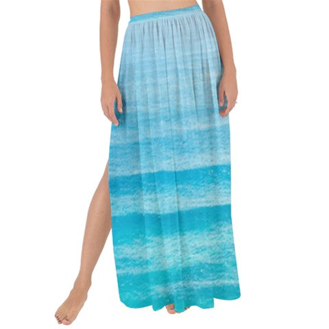 Turquoise | Maxi Chiffon Tie-Up Sarong