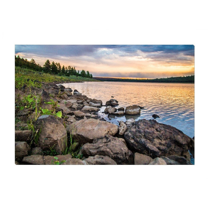 Spyder Lake | Canvas Wrap