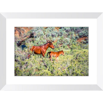 Mother & Daughter | Framed Print