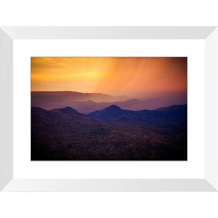 Rain Over Black Canyon | Framed Print