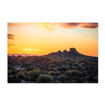 Papago Sunset | Canvas Wrap