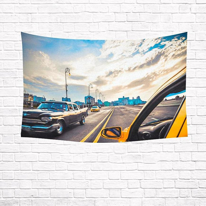 Havana Highway | Wall Tapestry