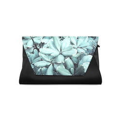 Teal Blossom | Clutch Purse