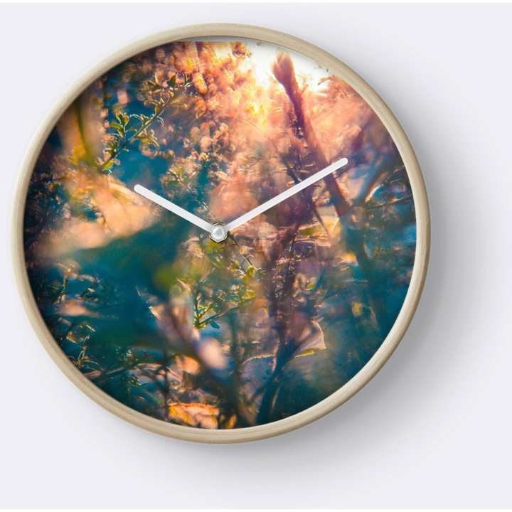 Summer Days | Wall Clock
