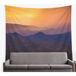 Rain Over Black Canyon | Tapestry