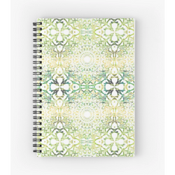 Earth Mandala Sequence | Spiral Notebook