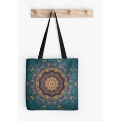 River Mandala | Tote Bag