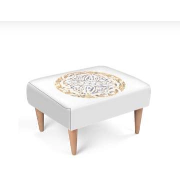 Gratitude | Decorative Footstool