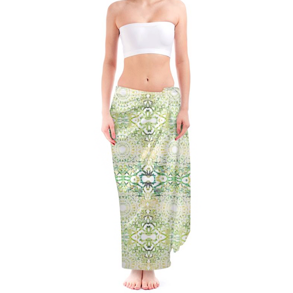 Earth Mandala | Silk Beach Sarong