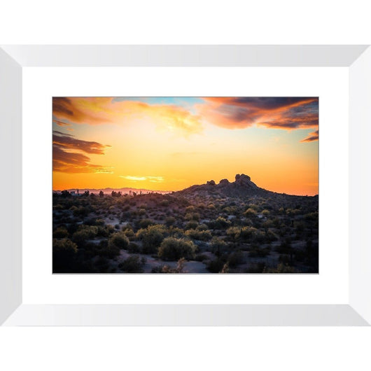 Papago Sunset | Framed Print