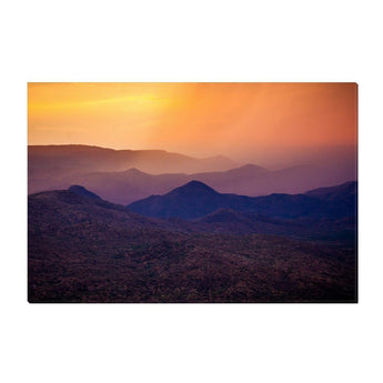 Rain Over Black Canyon | Canvas Wrap