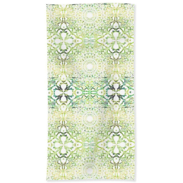 Earth Mandala Sequence | Beach Towel