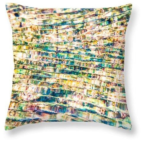 Ecstatic Flow | Throw Pillow
