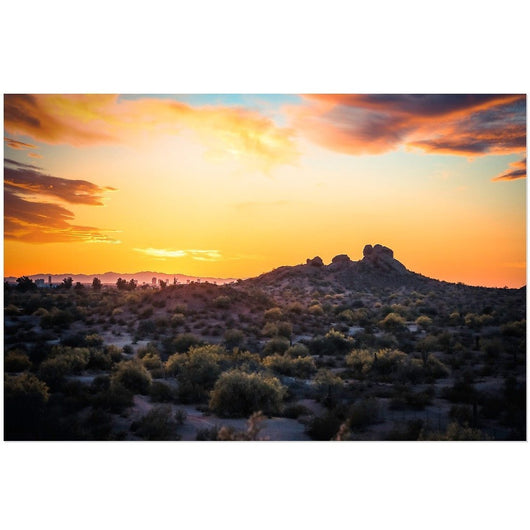 Papago Sunset | Acrylic Print