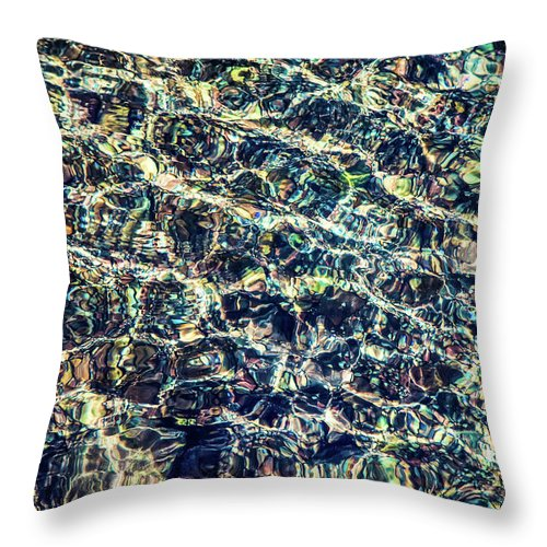 Majestic Flow | Throw Pillow
