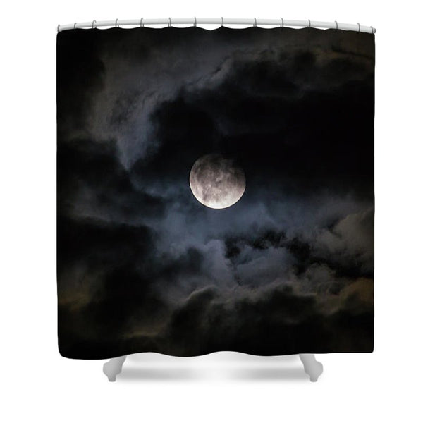 Midnight Clouds - Shower Curtain