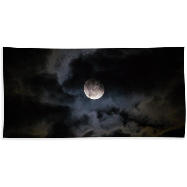 Midnight Clouds - Bath Towel