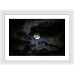 Midnight Clouds - Framed Print