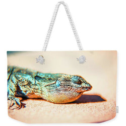The Lizard | Weekender Tote Bag