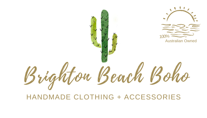 Colourful, comfy & affordable handmade bohemian clothing & accessories. Wrap Dresses, Kimonos, Scrunchies, Headwraps, Tie-Dye Yoga Leggings, Gemstone Earrings, Gypsy Earrings, Rings. Inspired by a love of the beach, travel & beautiful fabric. Established in 2016, based in Brighton, Melbourne, Australia.
