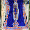 Blue Diamond Kaftan - Brighton Beach Boho