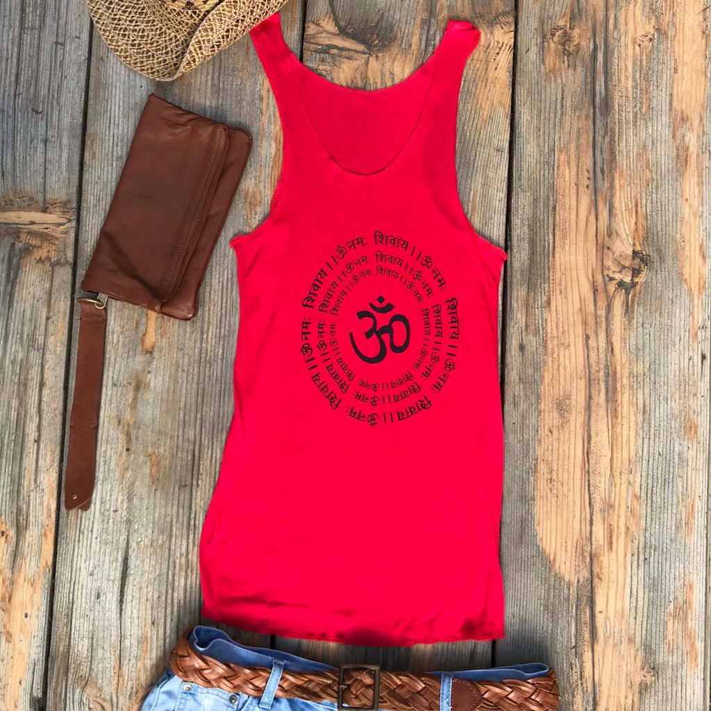 Candy Apple Singlet - Brighton Beach Boho