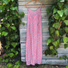 Coral Slip Sun Dress - Brighton Beach Boho