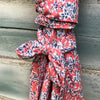 Coral Wrap Dress - Brighton Beach Boho