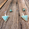 Turquoise Marble Arrows - Brighton Beach Boho