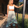 Mint Wrap Skirt - Brighton Beach Boho
