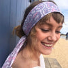 Mauve Headwrap - Brighton Beach Boho