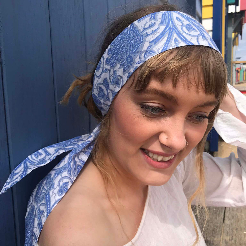 Cornflower Headwrap - Brighton Beach Boho