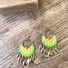 Lemon Lime Hoops - Brighton Beach Boho