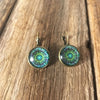 Green Mandala Drops - Brighton Beach Boho