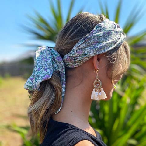 Mint Knot Turban