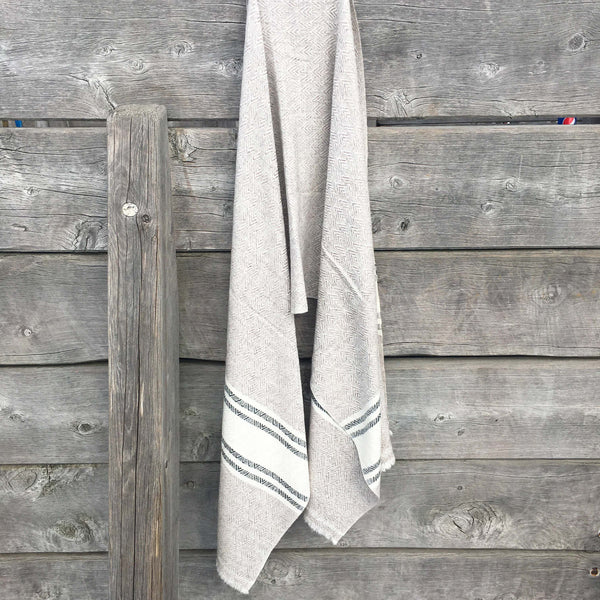 Nomad Goat's Wool Shawl - Brighton Beach Boho