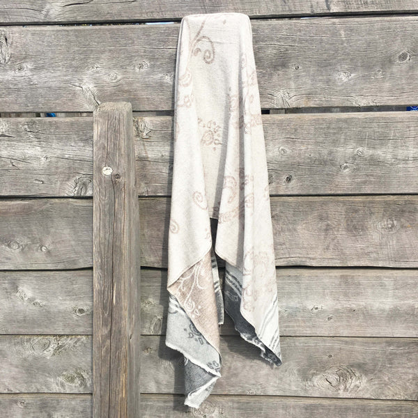 Parsi Goat's Wool Shawl - Brighton Beach Boho