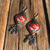 Lava Fabric Dangles - Brighton Beach Boho