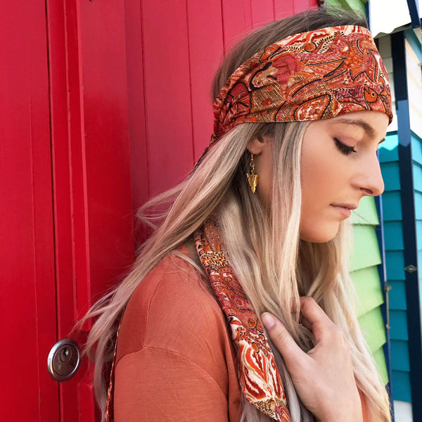 Suvarna Headwrap - Brighton Beach Boho