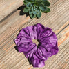 Tie-Dye Purple Scrunchie - Brighton Beach Boho