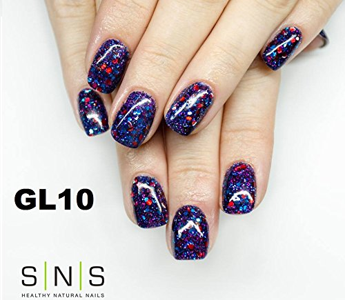 Sns Gl10 Glitter Collection Signature Nail Systems Dipping Powder Pr Balmoral Beauty