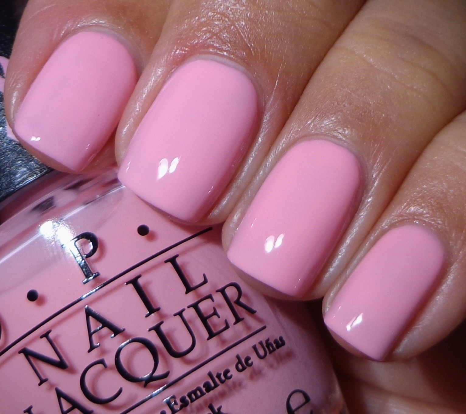 OPI: PINK-ING OF YOU NL S95 Nail Lacquer (15ml) New