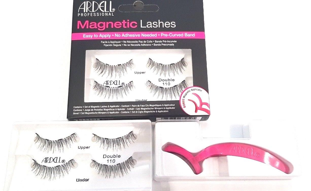 e598ce21aa8 Ardell Magnetic Lashes BONUS APPLICATOR. Double 110 REUSABLE ...