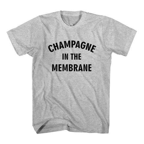 T-Shirt Champagne In The Membrane