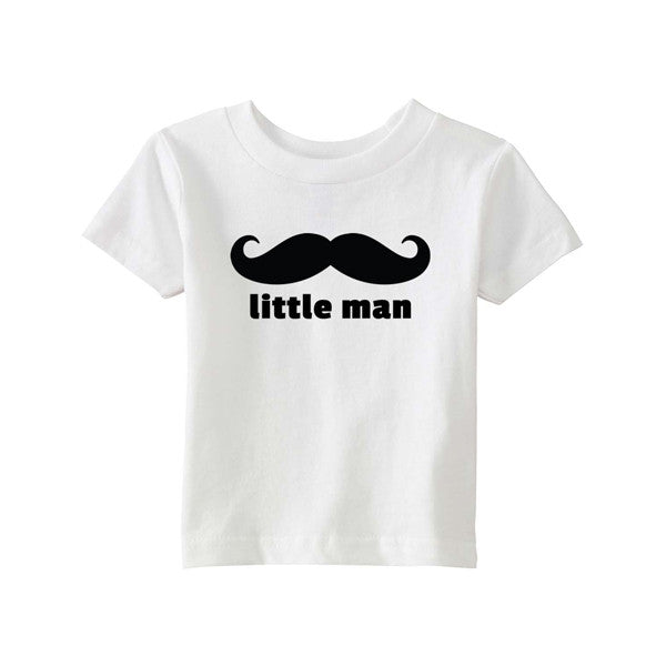 Matching T-Shirt Father Big Man Son Little Man