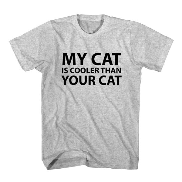 T-Shirt My Cat Is Cooler Than Your Cat