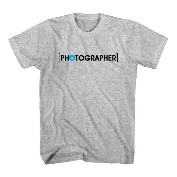 Matching T-Shirt Father Photographer Son Model